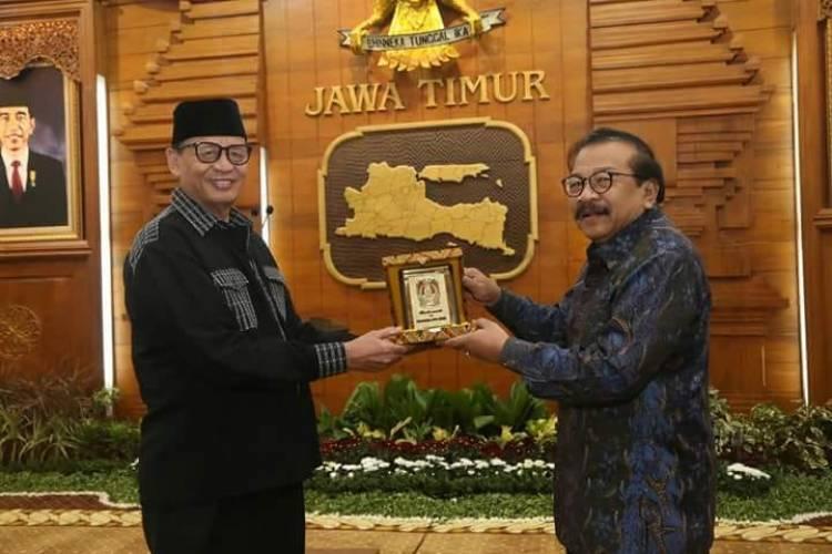 Gubernur Banten Studi Komparasi ke Pemprov Jawa Timur