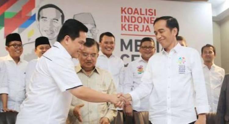 Generasi Milenial dan Pengusaha Ragu Erick Thohir Bisa Sukses di Timses Jokowi