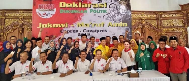 Mesin Politik Jokowi-Ma'ruf Amin Bertambah Lagi, KIBAR Banten Deklarasi Dukungan