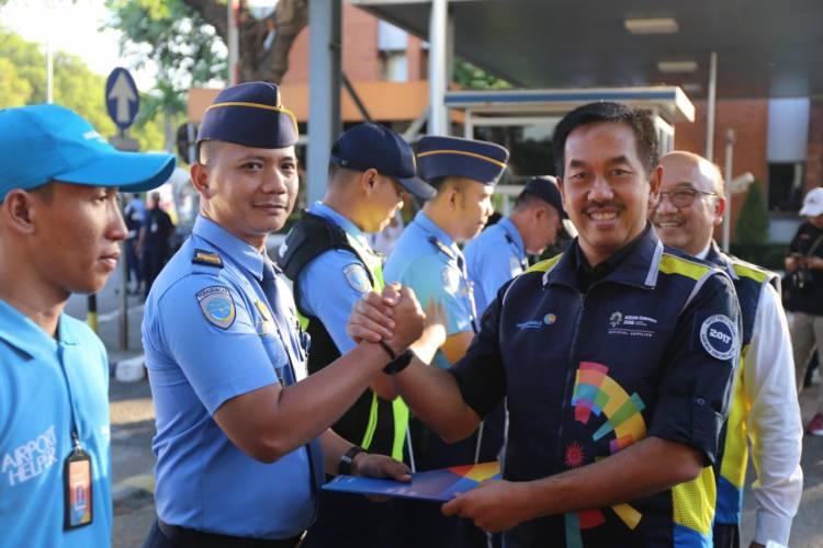 Tutup Posko, Angkasa Pura II siap Layani Kontingen Asian Para Games 2018