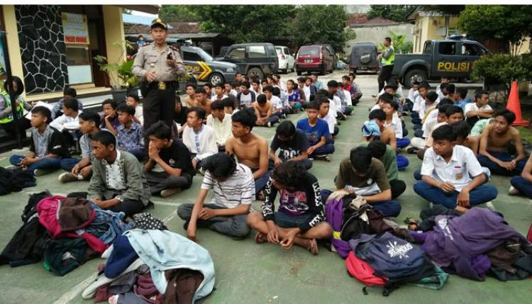 Tawuran Marak, KPAI : Selama 2016-2018, 202 Siswa Terlibat Hukum Akibat Tawuran