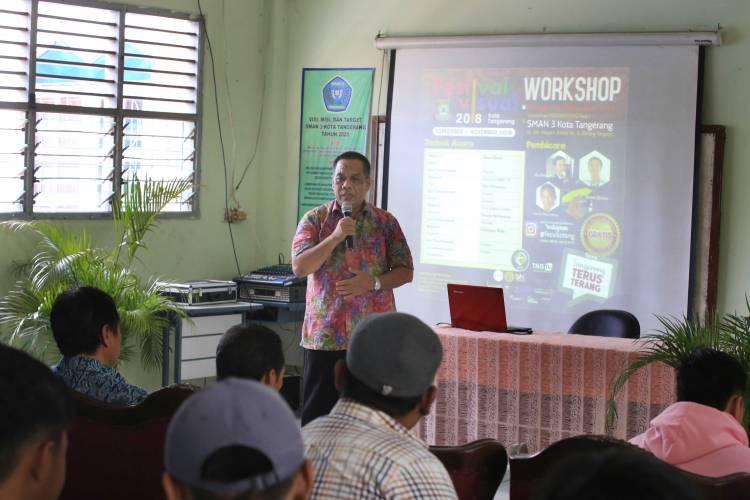 Felix : Workshop Festival Visual Harus Mampu Dongkrak Ekonomi Kreatif di Tangerang