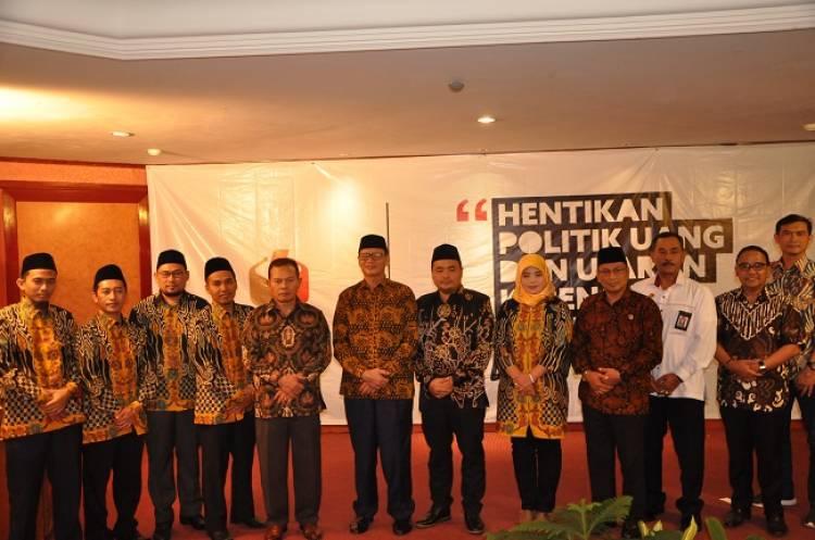 Deklarasi 'Banten Bisa', Peserta Pemilu 2019 Siap Anti Politik SARA dan Ujaran Kebencian