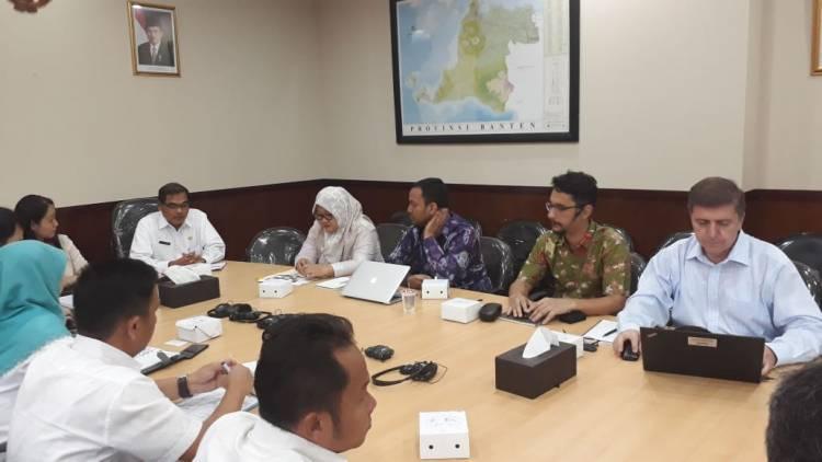 Bank Dunia Apresiasi Kepemimpinan WH Dalam Pengelolaan Keuangan di Provinsi Banten