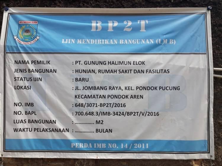 Diduga Pakai IMB Bodong, Satpol PP Bernyali Segel Proyek Lippo Mal?