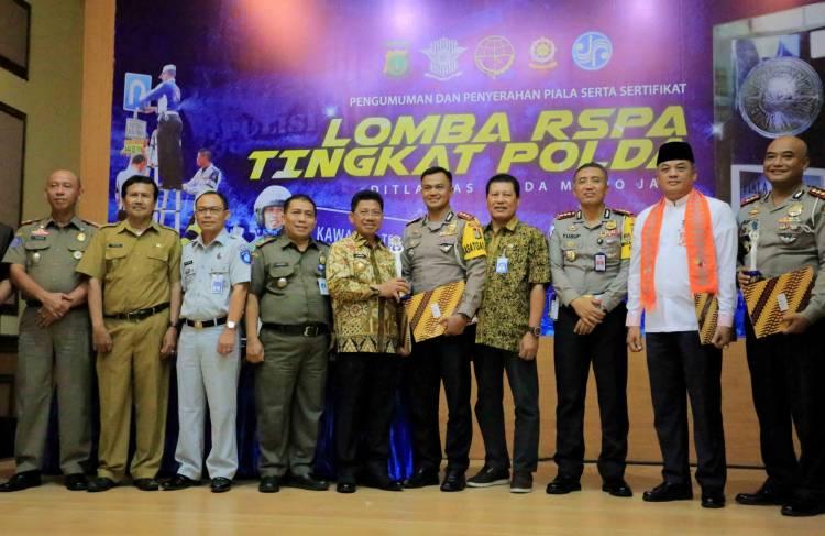 Kota Tangerang Raih Juara Lomba Road Safety Partnership Action