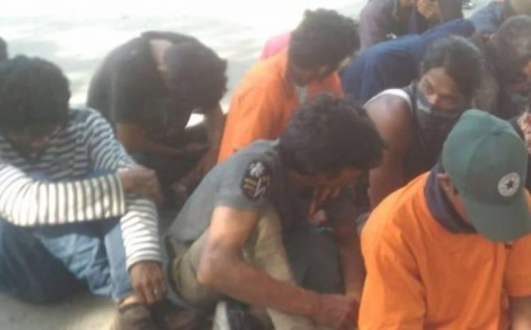 Polisi Bekuk 45 Orang Pelaku Penjarahan Saat Gempa di Kota Palu