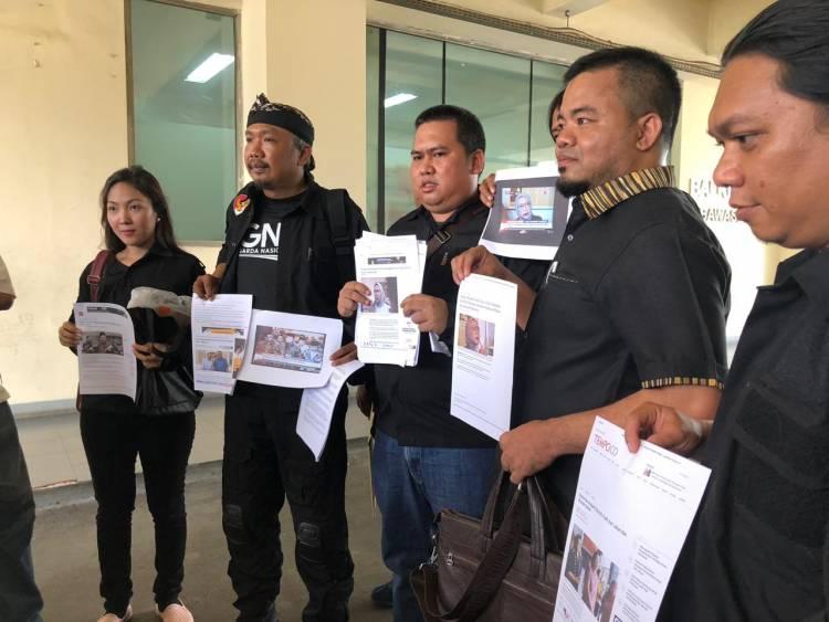 Hoax Ratna Sarumpaet, GNR Lapor ke Bawaslu Soal Kampanye Hitam Kubu Prabowo