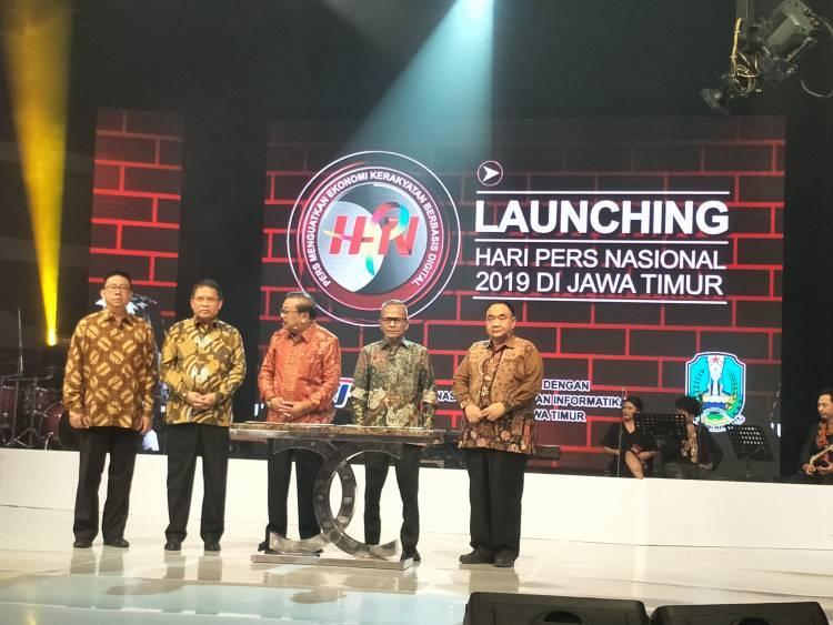 PWI Launching Hari Pers Nasional 2019 Jawa Timur