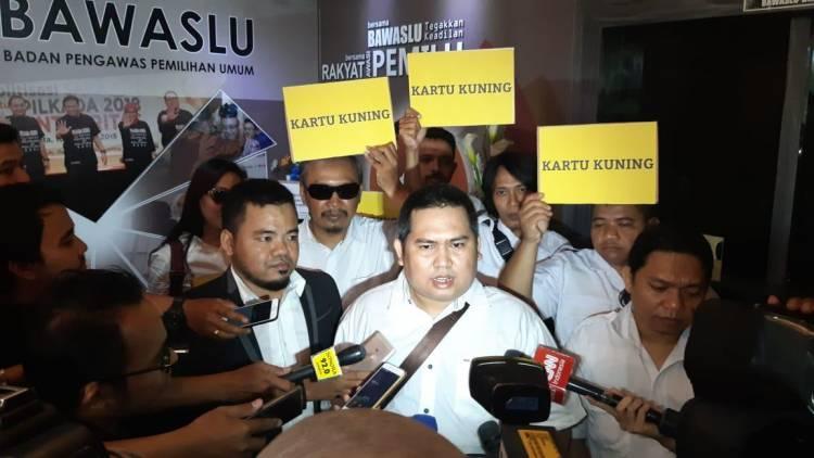 Bawaslu Diminta Tegas, GNR Beri Prabowo Kartu Kuning