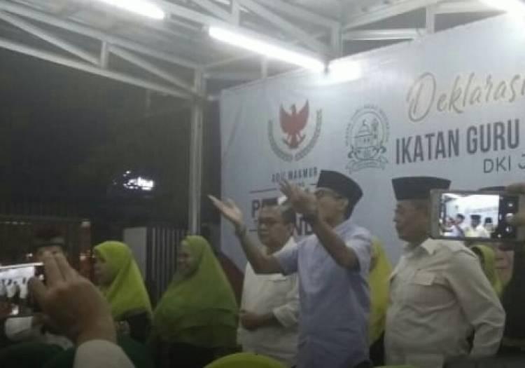 Didukung Guru Ngaji se-Indonesia, Sandi Yakin Bakal Raih 'Suara Langit'