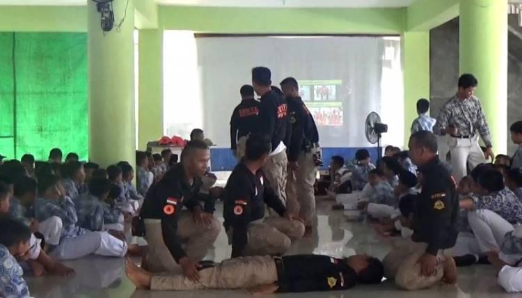 BPBD Sosialisasi Tanggulangi Bencana Kepada Para Siswa