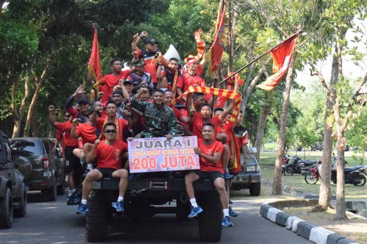 Keren! Yonif 1 Mar Sabet Juara Umum Binsat Korps Marinir 2018