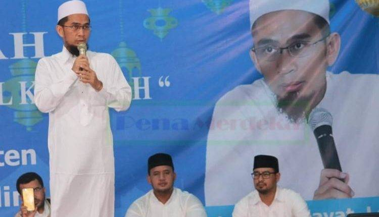 Begini Kata Ustadz Adi Hidayat Soal Revitalisasi Banten Lama