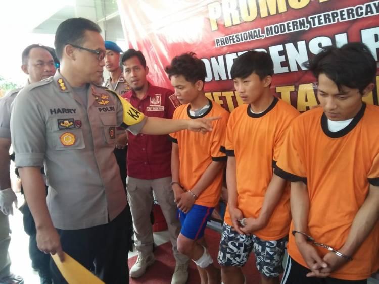 Komplotan Pemuda Rampok Alfamart, Kurang Dari 24 Jam Didor Polisi