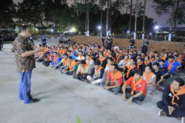 Peringati Sumpah Pemuda, Dispora Kota Tangerang Gelar Kemah Bakti Sosial Generasi Millenial