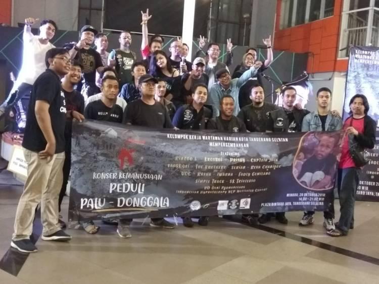 Wartawan Tangsel Kumpulkan Donasi Rp 70 Juta Lebih untuk Palu Donggala
