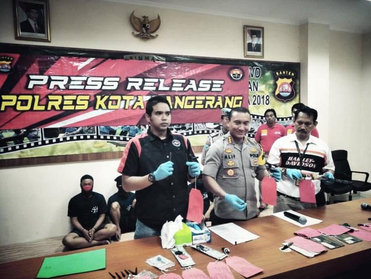 Tembak Pelaku Curanmor, Satreskrim Polresta Tangerang Diganjar Penghargaan