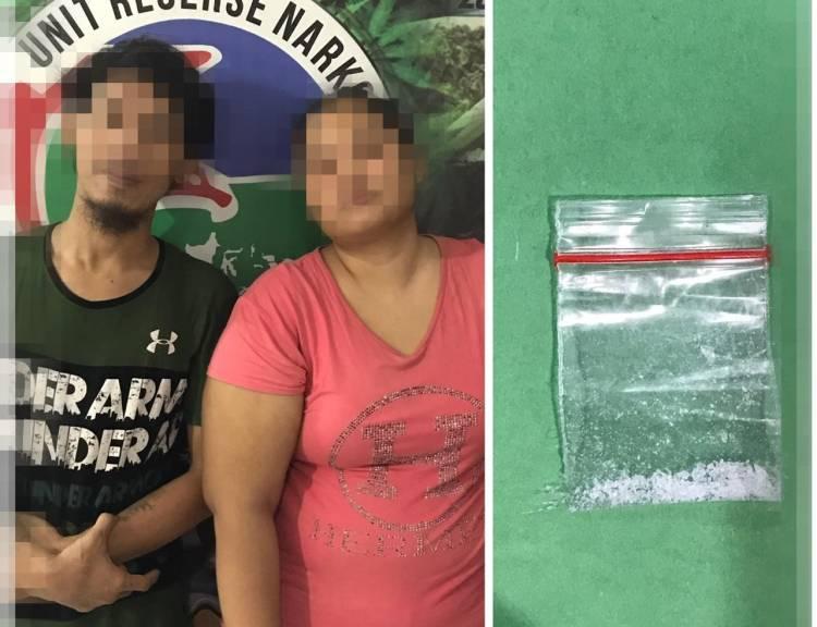 Edarkan Sabu, Seorang Wanita Bersama Dua Temannya Dibekuk Polisi