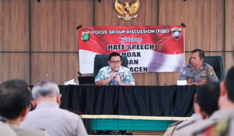 Pemilu 2019, Diskominfo Tangsel Himbau Waspadai Hoak dan Ujaran Kebencian