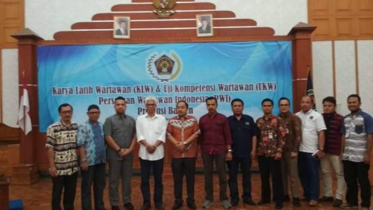 PWI Banten Gelar Uji Kompetensi Wartawan 2018