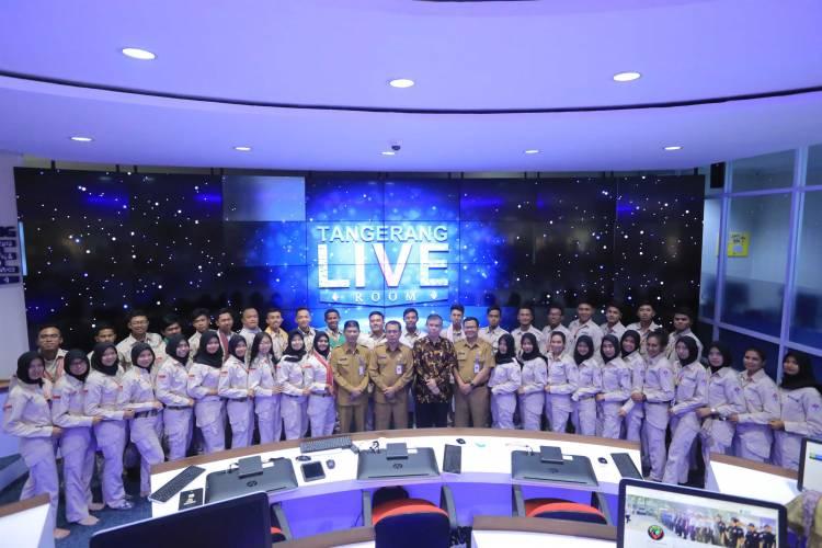 Kemenpora Takjub Lihat Pusat Kontrol LIVE ROOM Kota Tangerang