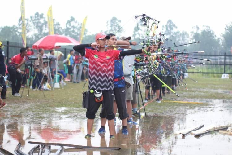Lokasi Cabor Panahan PORPOV Banten Kebanjiran, Atlet : Venuenya Buruk