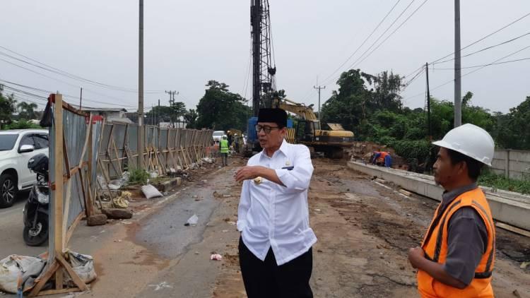 Gubernur Banten Ngamuk Sidak Proyek Jembatan
