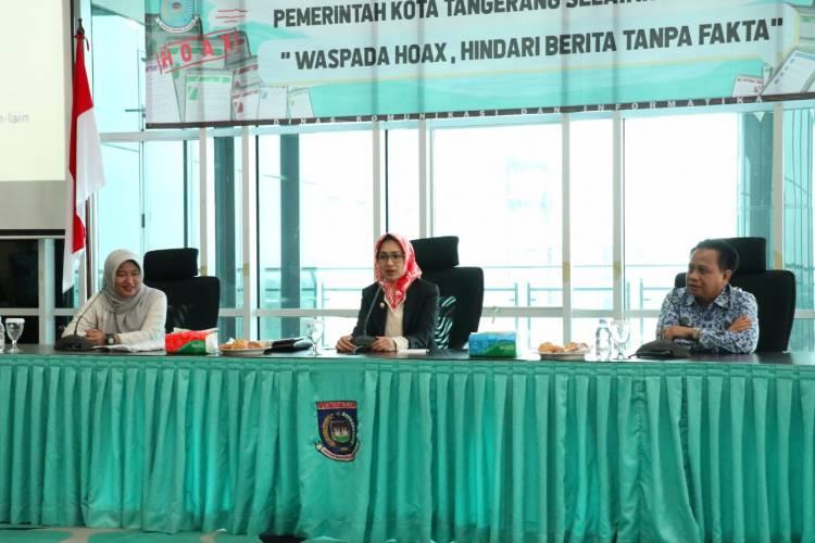 Forum Humas, Cara Kominfo Tangsel Ajarkan OPD Tangkal Berita Hoax