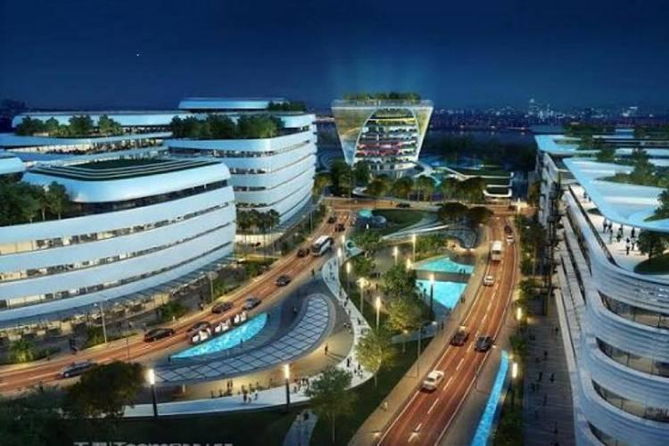 Pengen Kayak Kantor Pusat Google, Sinar Mas Land Bangun Animation Valley di BSD City
