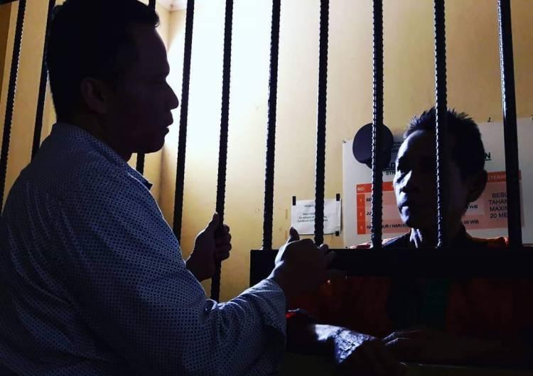 Kasihan.! Penjaga Sekolah Miskin Masuk Bui Lawan Pengembang Citra Maja Raya