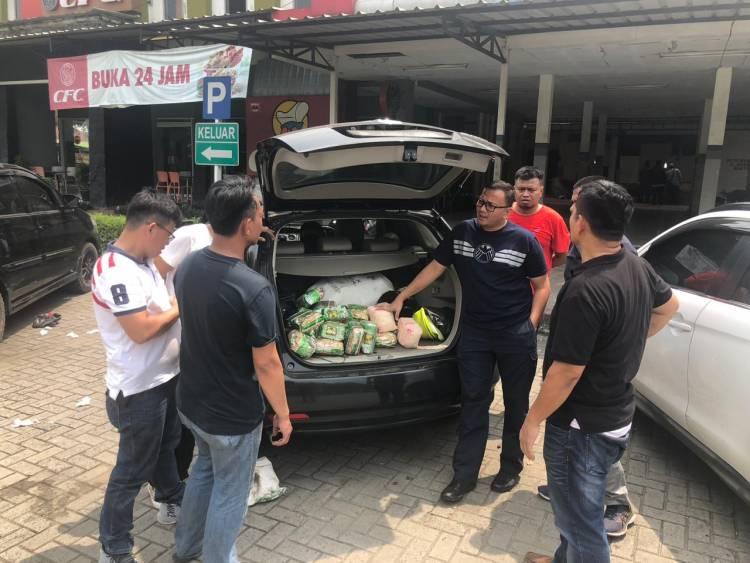 Polres Jakarta Barat Gagalkan Penyelundupan  2 Karung Shabu dan  Inex