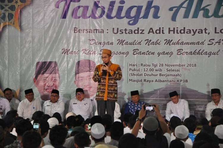 Ustadz Adi Hidayat : WH Gubernur Zaman Now