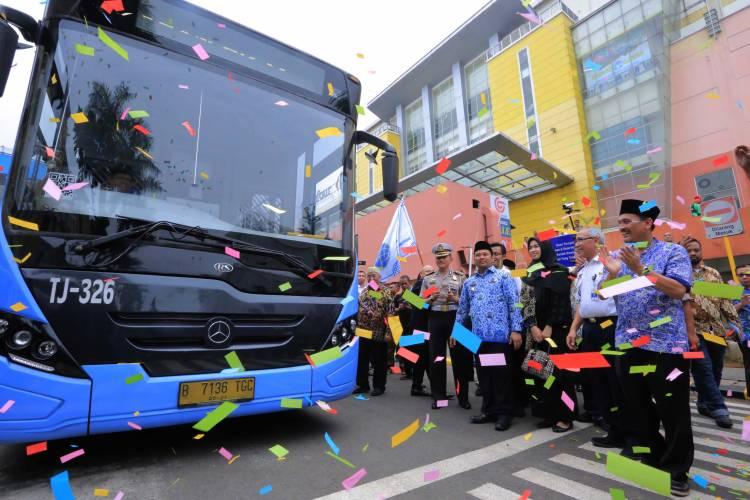 Ditolong Busway, Dishub Kota Tangerang Sebut Jalan Ciledug Macetnya Berkurang