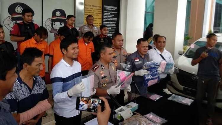 Bandit Spesialis Rampok 'Takol' Diringkus Polisi