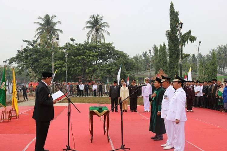 Ini Maksud WH Lantik Walikota Serang di Banten Lama