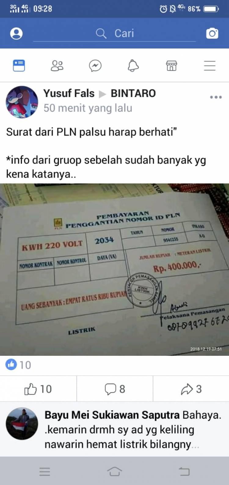Viral Soal Pungli di Bintaro, Ini Kata PLN UID Banten