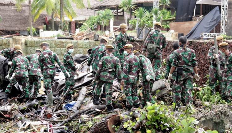 Pencarian Korban di Kawasan Tanjung Lesung Berjalan Cepat