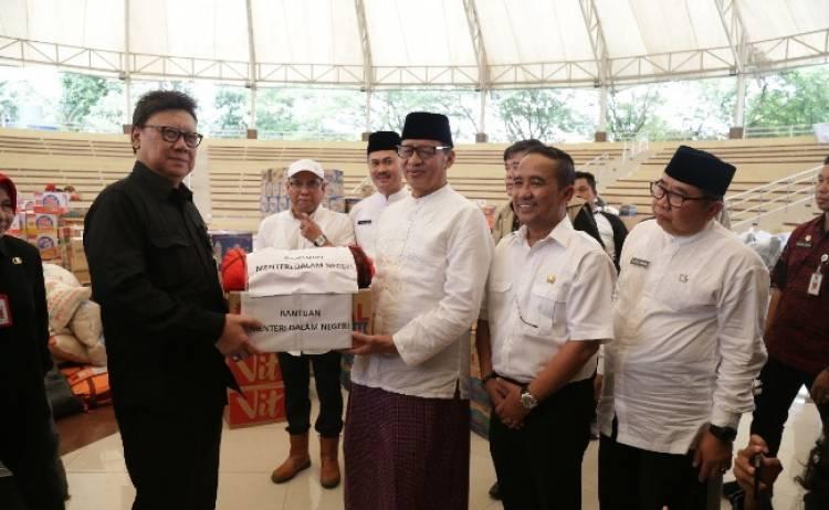 Proses Cepat Penanganan Bencana Tsunami Gubernur Banten Diapresiasi Mendagri