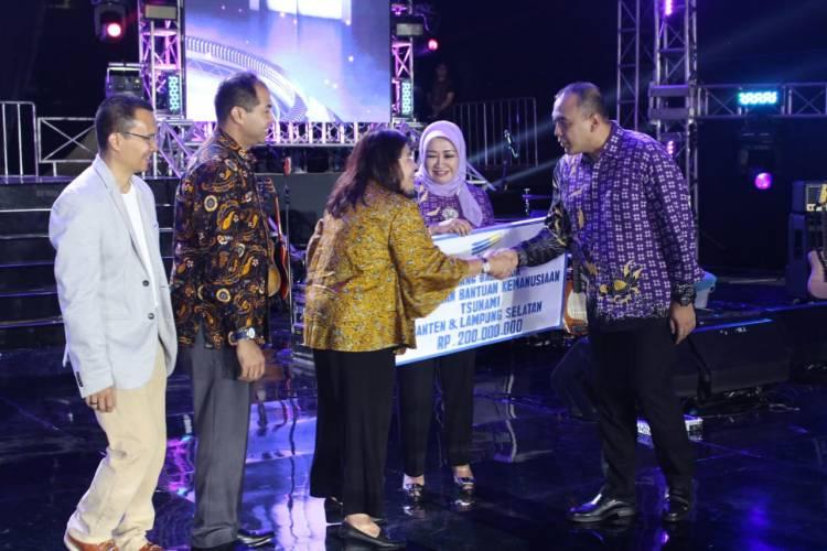 Keren.. Warga Kab Tangerang Kumpulkan Saweran 1,5 Miliar Bagi Korban Tsunami Banten dan Lampung