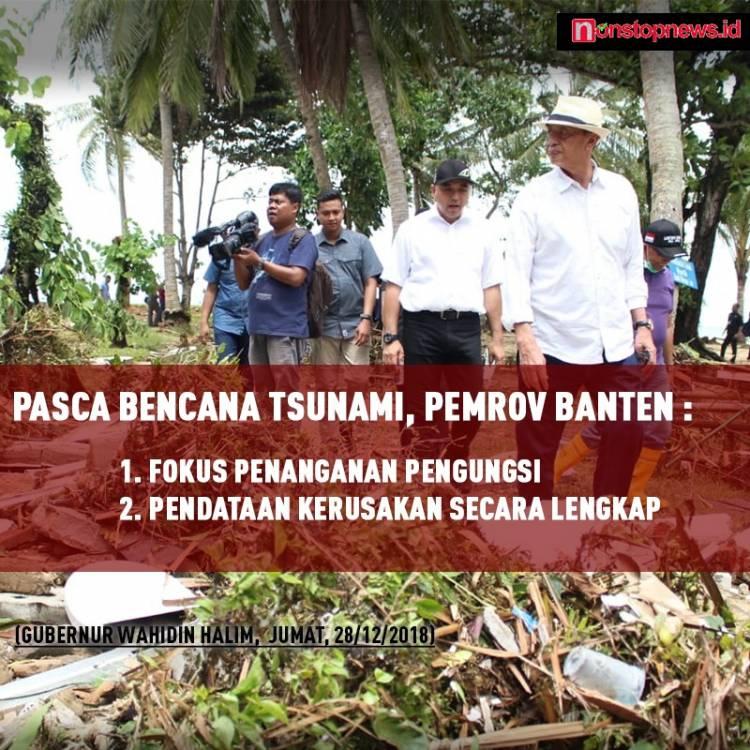 Malam Tahun Baru, Gubernur WH Himbau Masyarakat Mendoakan Korban Tsunami