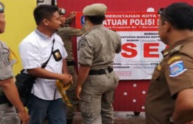 Satpol PP Tangsel Ancam Pidanakan Bupati Buru Selatan, Berani?