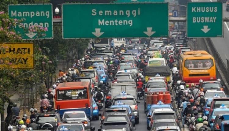Jakarta Masuk Kota Paling Macet di Dunia, 64 Jam Waktu Terbuang