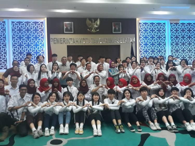 Anak Muda Korea Sambangi Tangerang Selatan, Mau Ngajarin Dance Blackpink?
