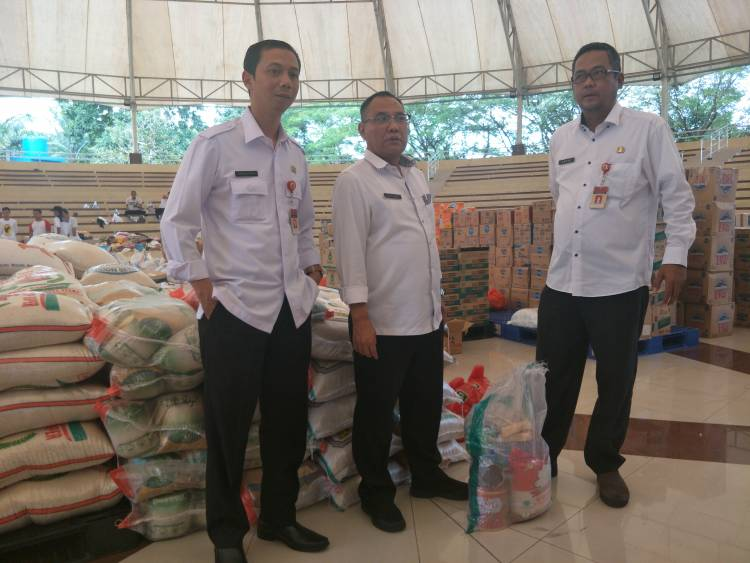 Soal Bantuan Tsunami, WH : Bagusnya Alat Sekolah, Stok Makanan Penuh