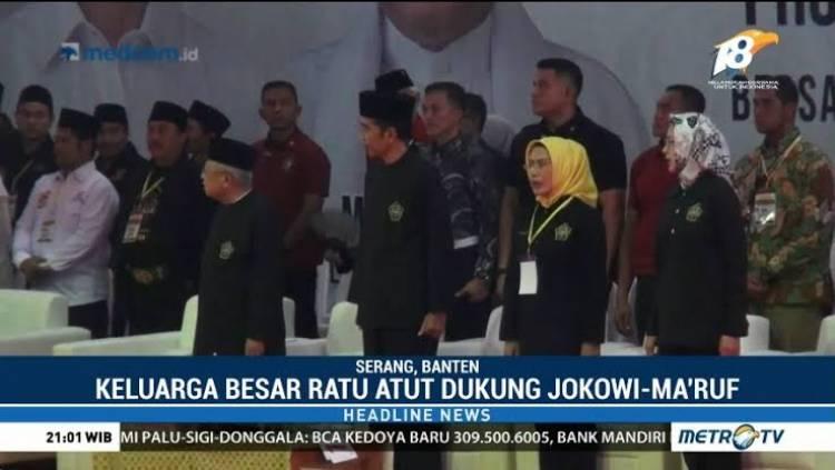 Airin Dukung Jokowi, Anak Buah Dukung Prabowo?
