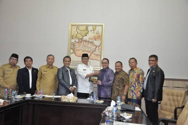 Dicek Komisi III DPR, Laporan Keuangan Pemprov Banten Diapresiasi
