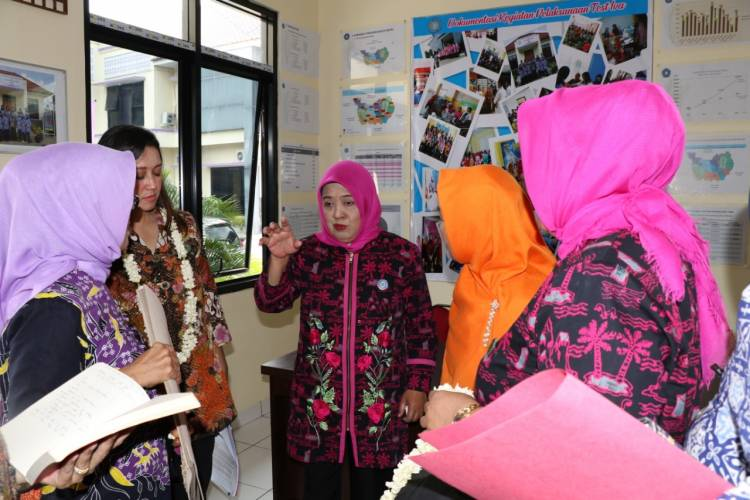 Emak-emak PKK Kab Tangerang Optimis Raih Juara Lagi