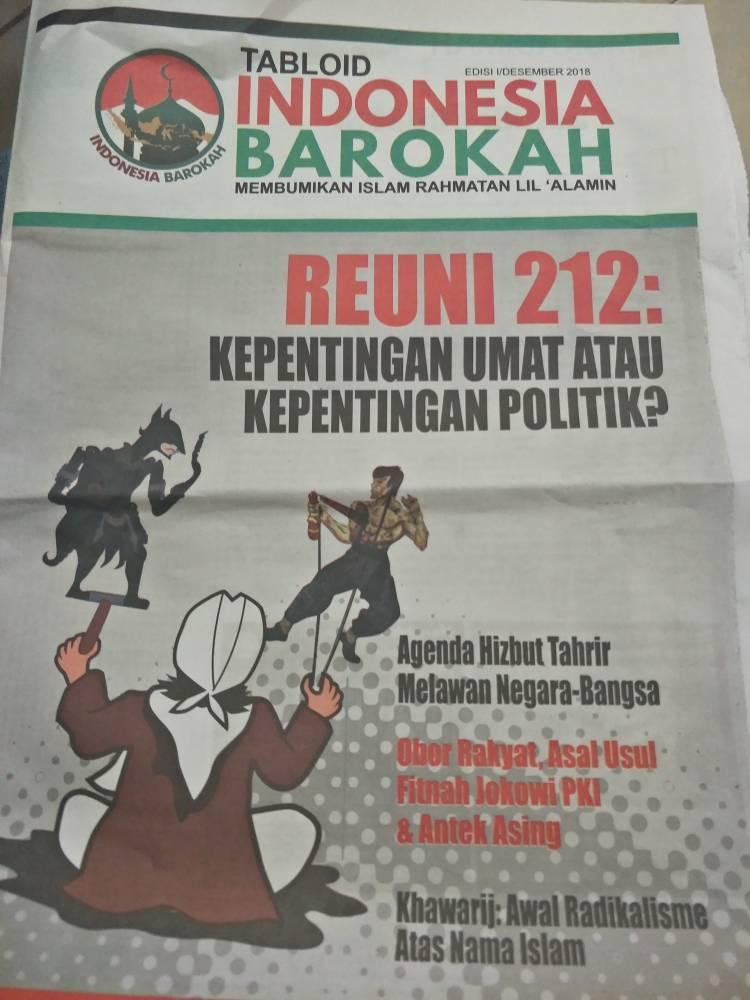 Tabloid Indonesia Barokah Obok-obok Tangerang, Bawaslu : Akan Diteliti Black Campaign atau Tidak