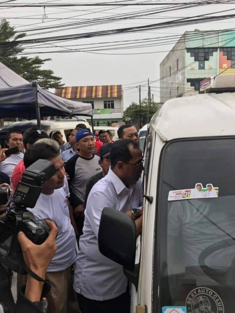 Supir Angkot se-Tangerang Raya Dukung Jokowi, Ini Kata Menhub